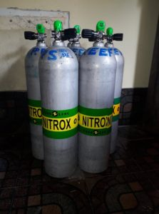 Nitrox Tanks Course Diving Koh Phagan