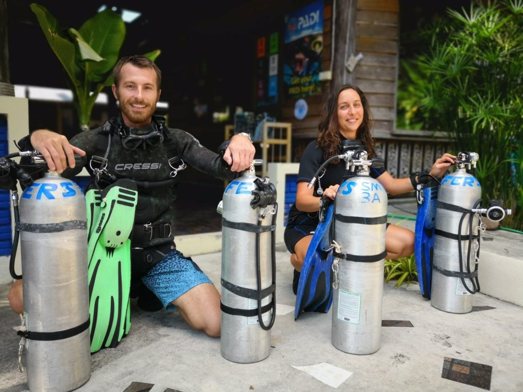 Sidemount Diving Koh Phangan Thailand